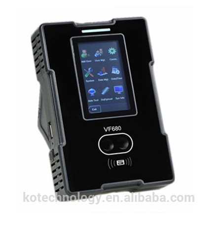 FACE RECOGNITION TIME ATTENDANCE 800 FACE USERS 10000 CARD USERS TCP/IP Biometric Time Recording