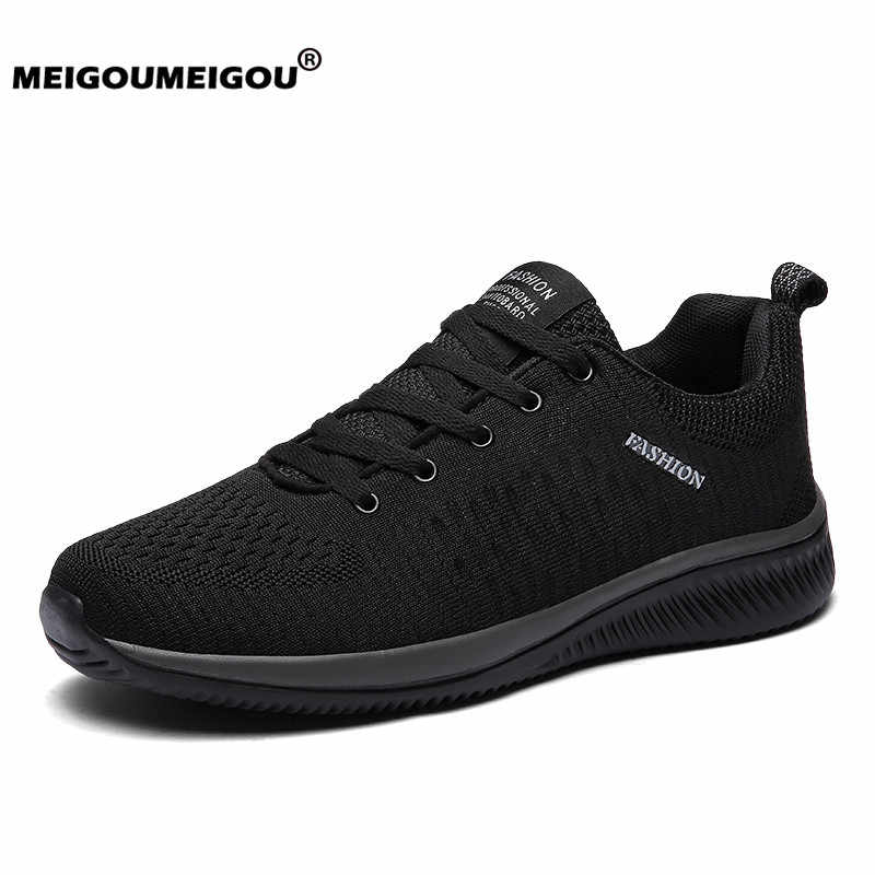 New Men Casual Shoes Sneakers Ultralight Breathable Men Running Sneakers Casual Shoes for Men Plus Size 48 Zapatillas Hombre
