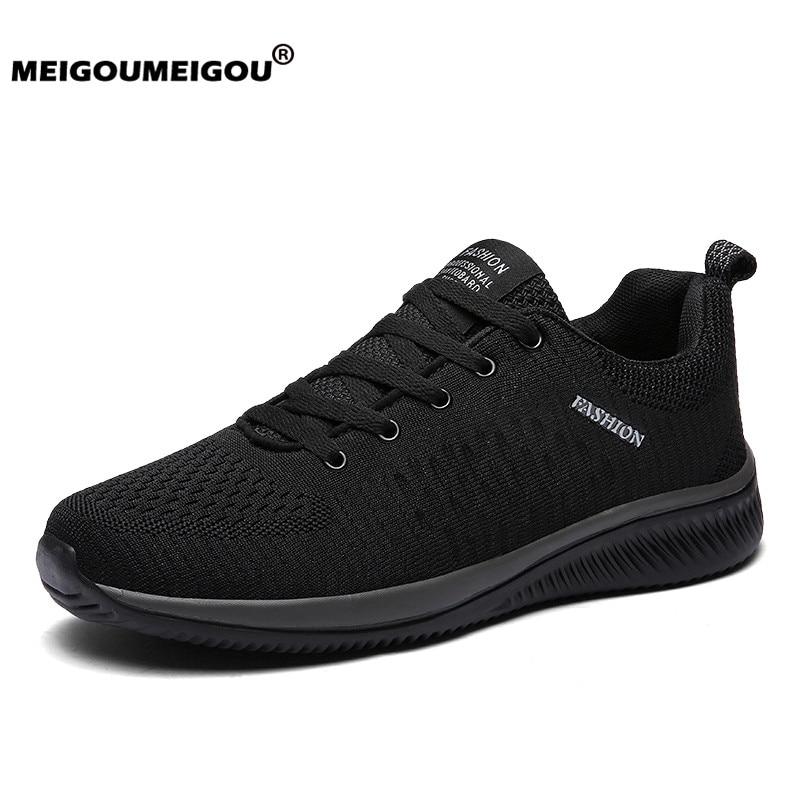 Nouveaux hommes chaussures décontractées Sneakers ultraléger respirant hommes course baskets chaussures décontractées pour hommes grande taille 48 Zapatillas Hombre