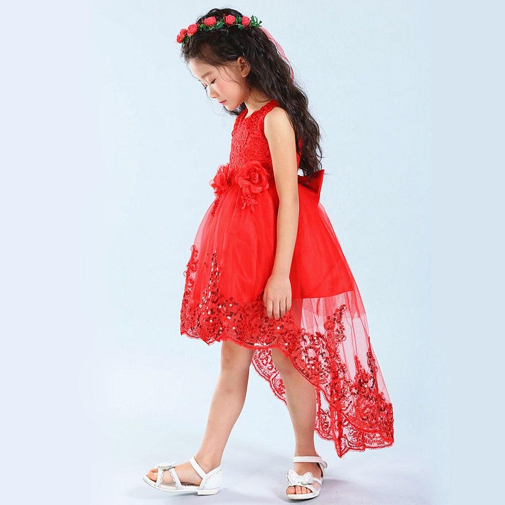 Mädchen Blumenkleid Kinder Mädchen Kleider Schöne Hochzeit Formale ...