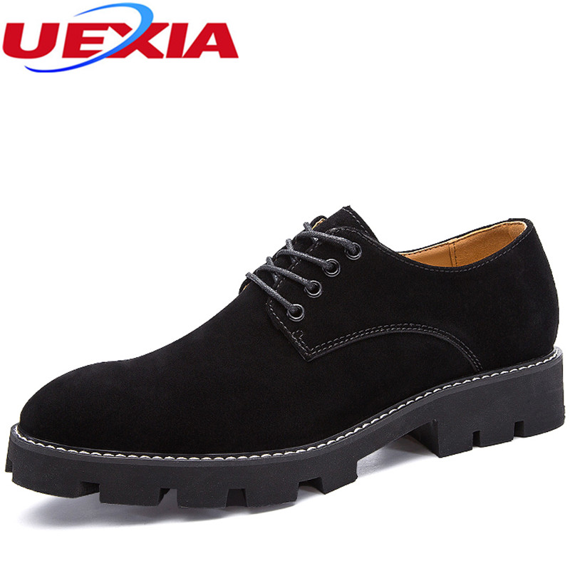 Oxfords Shoes For Men Dress Shoes Lace Up Increased Formal Pointed Toe Luxury Business Flats Breathable Wedding zapatos hombre good quality men genuine leather shoes lace up men s oxfords flats wedding black brown formal shoes