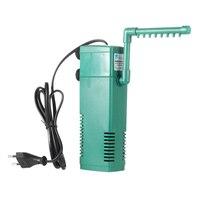 2 5 3 4 5 5W Portable Aquarium Internal Filter Multi Functional Aquarium Filter Water Filtration