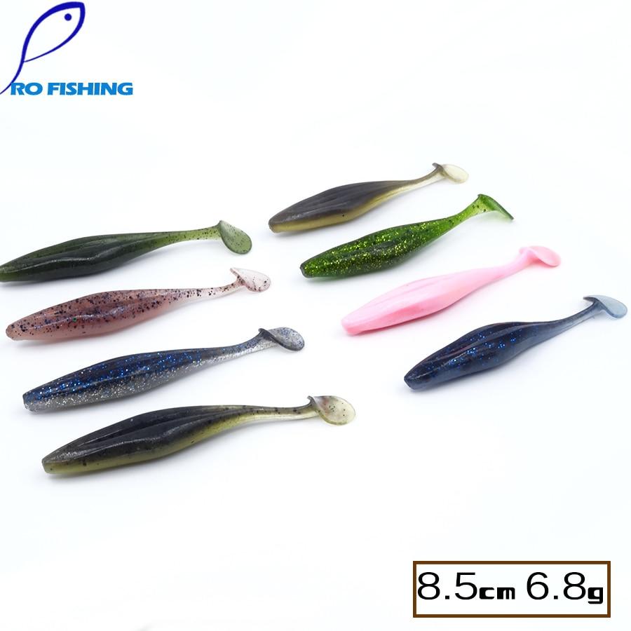 Pesca Artificial 8.5cm 6.8g 32pcs Pike Power Rubber Gulp ...