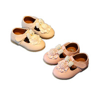 BABY WOW Toddler Shoes Baby Girl Soft Leather Shoes For 0 3T Kids Clothing Birthday Party