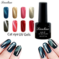 Saroline 8ml Charming Cat Eye Effect UV/LED lamp 3D Magnetic Gel Nail Polish Bluesky Soak Off Manicure nail cheap gel