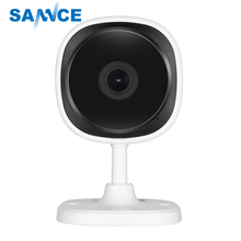 SANNCE IP Camera Wireless Wifi Mini Network HD 1080P Camara Night Vision IR Cut Home Security Camara Fisheye Indoor Baby Monitor