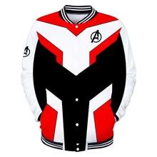 The Avengers Endgame Jacket Quantum Realm Cosplay Costume Hoodies Men Hooded End Game Zipper Marvel Sweatshirt