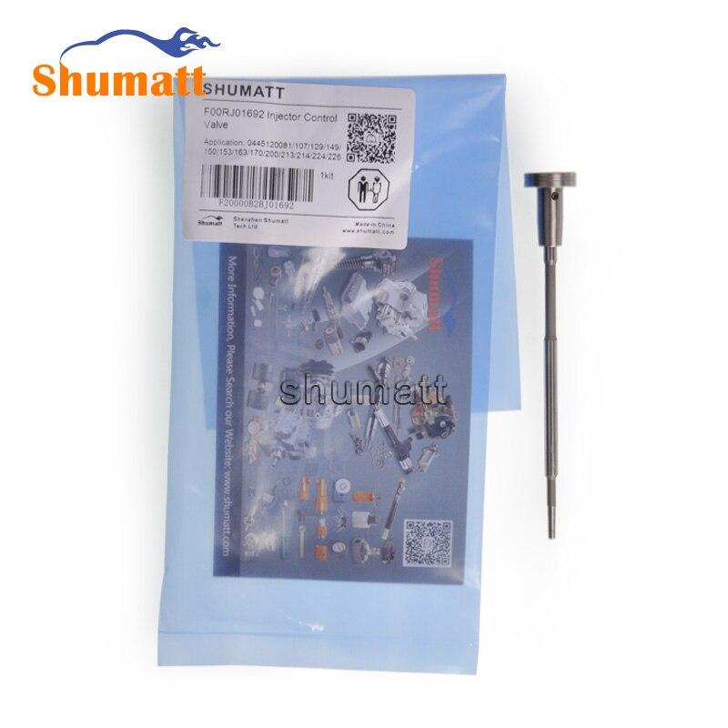 4pcs Free Shipping F00RJ01692 FOORJ01692 FooR J01 692 Common Rail Fuel Injector Control Valve Set Assy