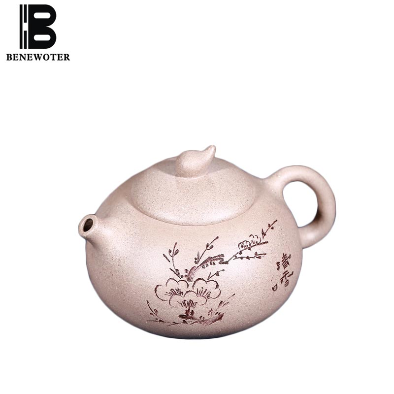 250cc Yixing Purple Clay Duan Mud Teapot Hand Painted Plum Flower Pattern Teaware Chinese Kung Fu Tea Set Tieguanyin Kettle Gift250cc Yixing Purple Clay Duan Mud Teapot Hand Painted Plum Flower Pattern Teaware Chinese Kung Fu Tea Set Tieguanyin Kettle Gift