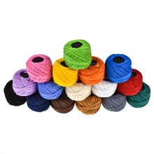 16 Colors Ball Cotton Embroidery Threads for Cross stitch Crochet Needlepoint Hand For Women Sewing Accessories Tools