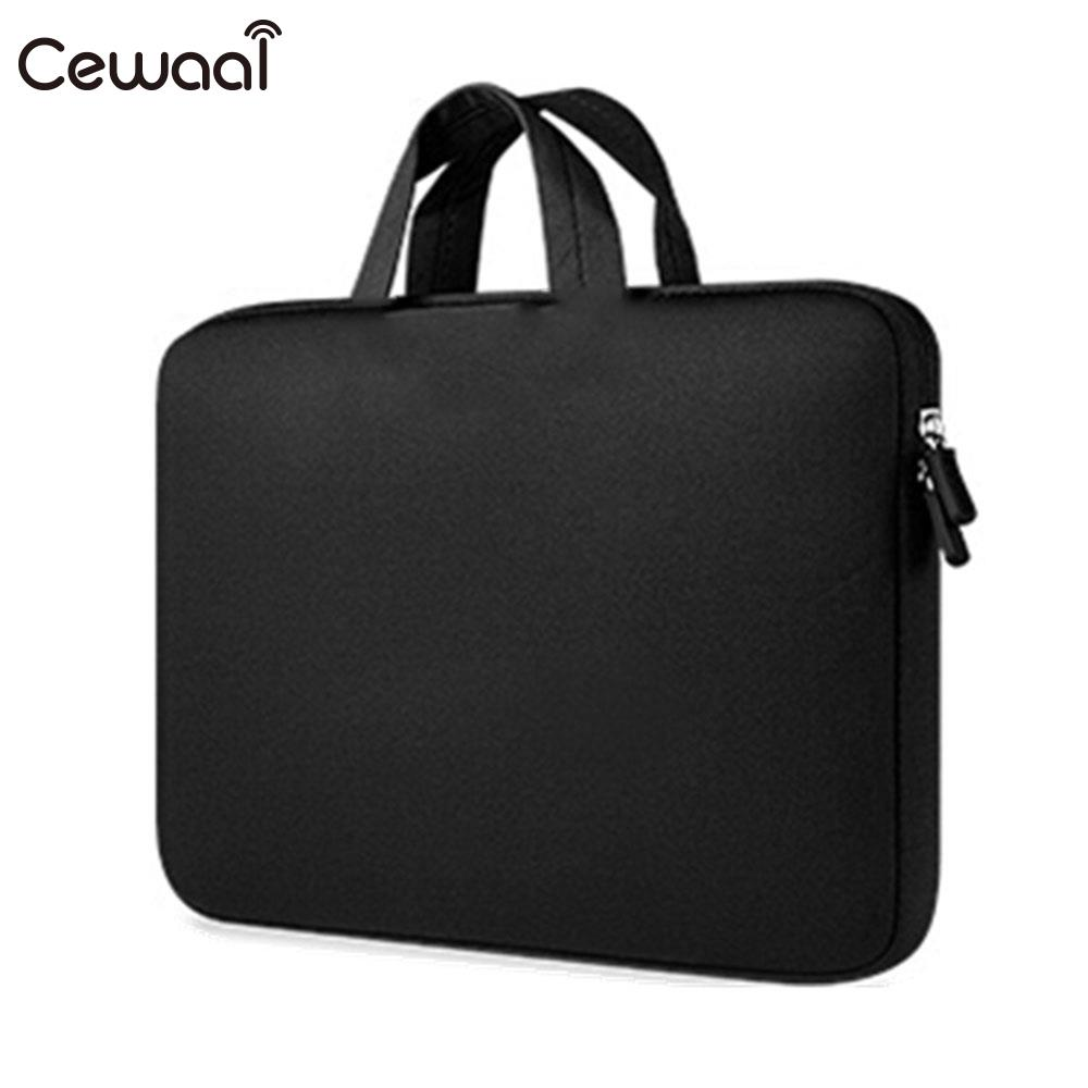 Cewaal Portable 10.1 Inch Laptop Handbag Protective Case Zipper Cover Netbook Laptop Carrying Bags For Laptop Universal