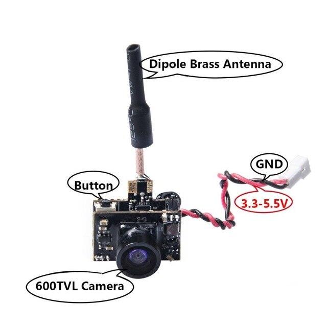 AKK BA3 5.8G 40CH VTX 0/25mW/50mW/200mW Switchable 600TVL 1/3 Cmos FPV AIO Camera for FPV Drone Like Tiny Whoop Blade Inductrix