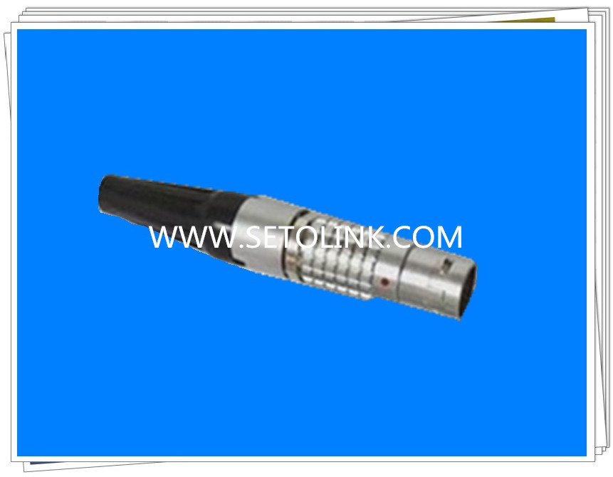 LEMO 5 PIN METAL MALE PLUG ( FGG.0B.305) CONNECTOR lemo connectors3 pin plug fgg 1b 302 clad circular metal plug self locking connector lemo connector b series