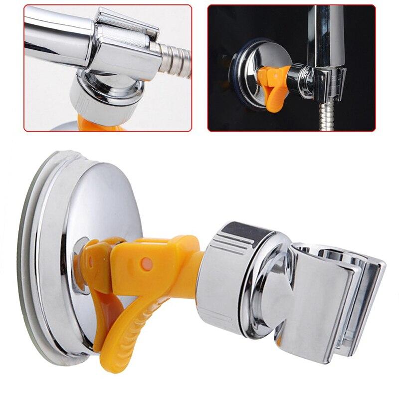 universale bagno regolabile in movimento titolare soffione doccia staffa di montaggio a ventosa elegante supporto doccia