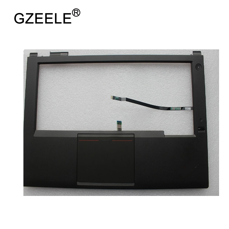 все цены на GZEELE New for Lenovo FOR ThinkPad T440P Palmrest Keyboard Bezel Cover Upper Case with Touchpad + Fingerprint Reader 04X5394