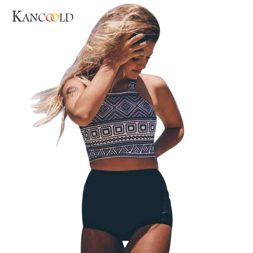 KANCOOLD боди сексуальный без проволоки модный латексный боди с принтом для женщин Falbala с высокой талией из плотной ткани обтягивающие костюмы FEB5