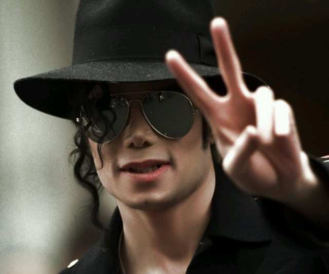 542067eff1b placeholder MJ Michael Jackson Black Formal hat Performance props Cosplay  Hat