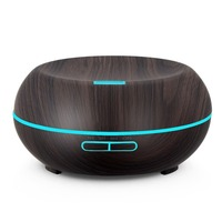 200ml Wood Grain Aromatherapy Diffuser Ultrasonic Cool Mist Aroma Humidifier With Adjustable Mist Mode Essential Oil