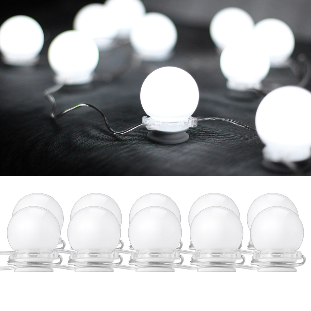 10w Makeup Vanity Led Light Bulbs Kit Agreatbigdeal