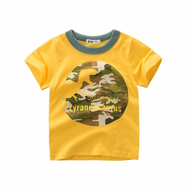 add82639 קנו בנים ' בגדים | INPEPNOW T-Shirt For Boys Kids Dinosaur tshirt ...