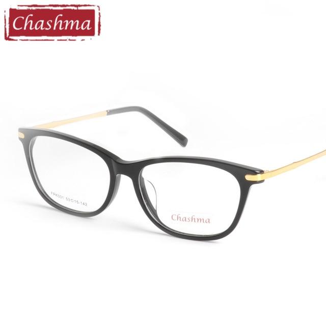 5651445cd1a Chashma 2018 Glasses Women and Men Acetate Quality Full Rimmed Eyewear  Fashion Prescripiton Trend Eyeglasses Frame