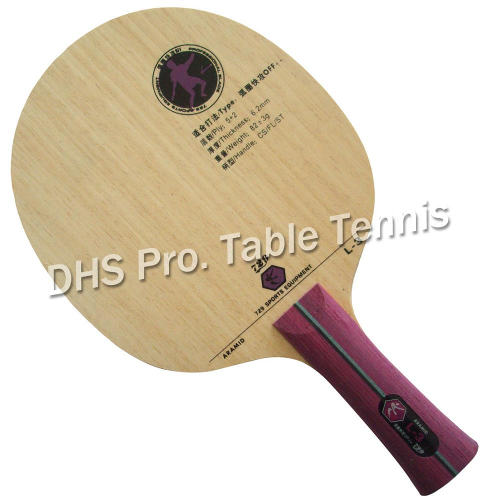 где купить RITC 729 Friendship L-3 L3 L 3 table tennis pingpong blade по лучшей цене