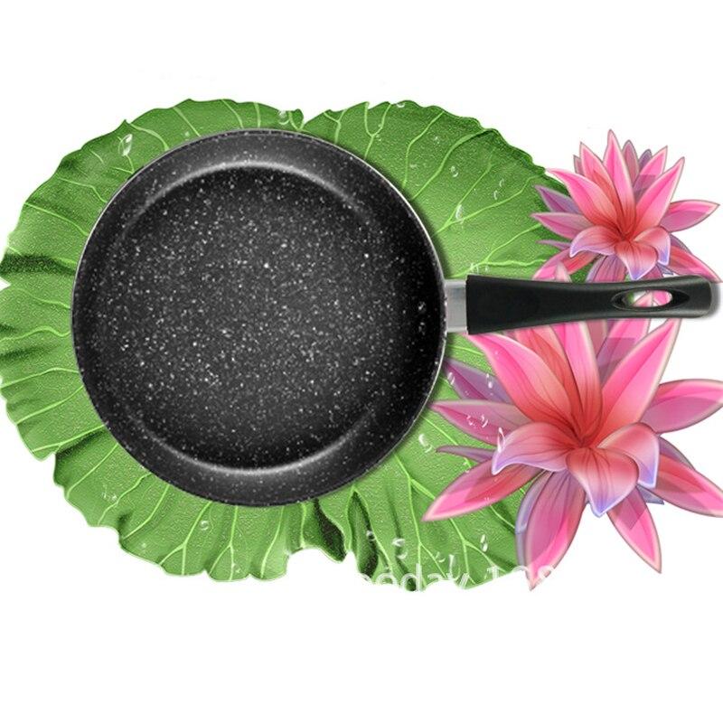 Poêle en aluminium cuisine Panela friteuse 20/24/28 cm coloré oeufs grilles & casseroles pour cuisinière à gaz plaque de cuisson antiadhésive en cuivre - 2