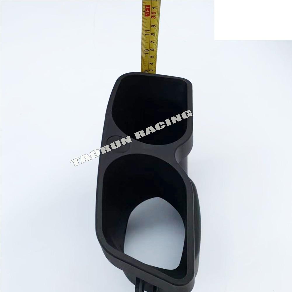 W212 W205 W222 матовый черный глушитель выхлопной трубы концевые наконечники для Benz C/E/S/GLE/GLS изменение класса на Brabus стиль хвостовые наконечники