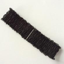 женский корсет ремень летнее платье юбки черные кружевные оборки Cummerbunds женские пряжки