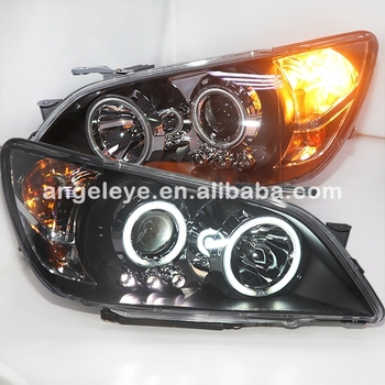 For Lexus IS200 IS300 LED Head Lamp 2001-2005 Year Black Housing LF