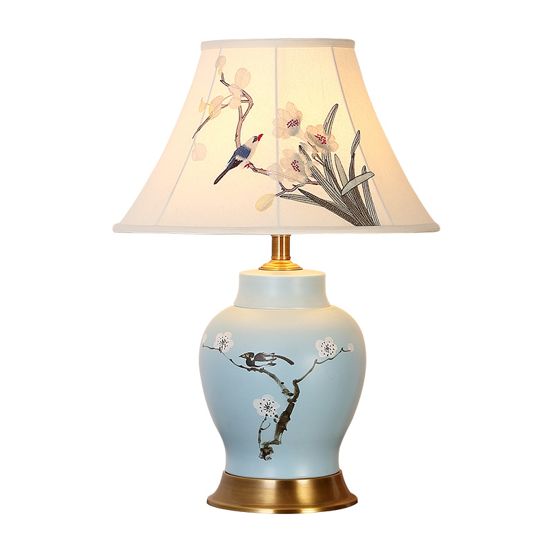 Brass Table Lamps For Living Room: Traditional Table Lamp Bedroom