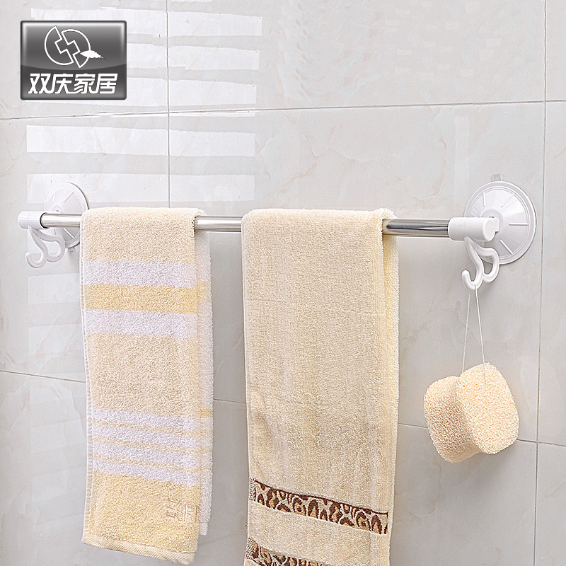 Szívócsésze falra szerelhető típus Kivehető fürdőszoba sarok törülközőtartó horogház díszítéssel