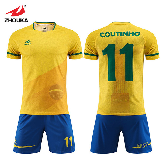 70bc568e9e4 Customized professional wholesale Sublimated football jersey Soccer numbers  personalise your own football shirt free shipping