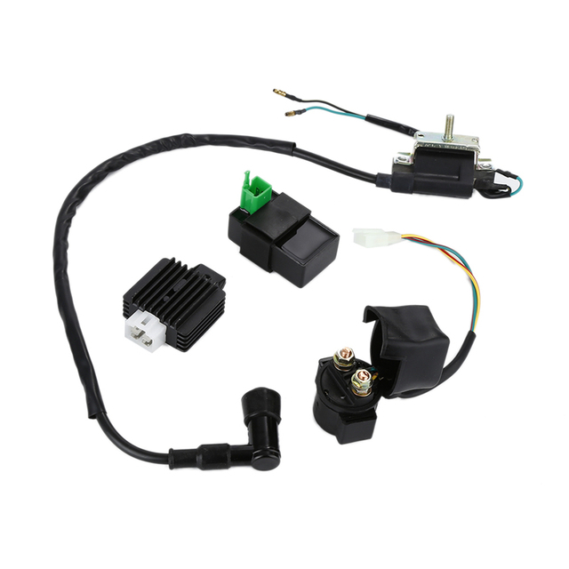 racing ignition coil 5 pins cdi box 4 pins regulator rectifier rh aliexpress com 50Cc Scooter Stator Wiring Diagram 90Cc ATV Wiring Diagram