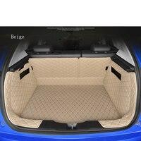 WLMWL all surrounded for Volkswagen passat b5 b6 b7 polo 4 5 6 7 golf tiguan Boot Mat Trunk Mat Floor Carpet