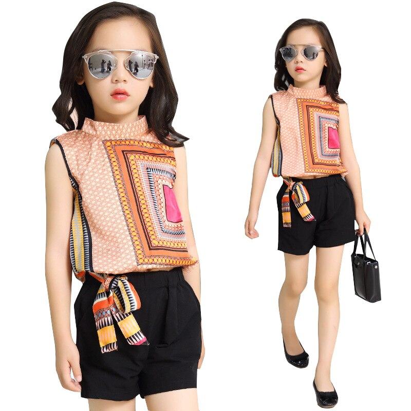 Online Get Cheap Tops for Girls Size 12 Kids Summer Top Kids ...