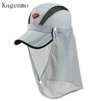 Cloak Gauze Baseball Cap Fashion Neck Protection Scarf Hat Disassemble Men And Women Summer Caps Thin