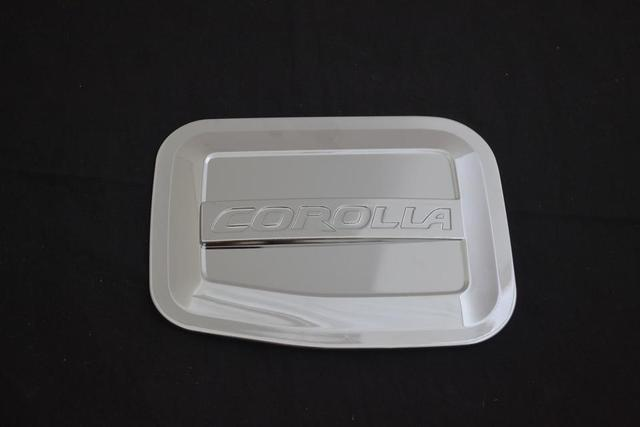 Auto chrome accessories,oil tank cover trim for toyota corolla 2014 2015,ABS chrome,style  A   free shipping
