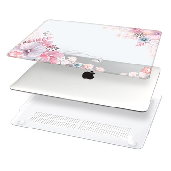 Floral Printing Hard Case for MacBook 1