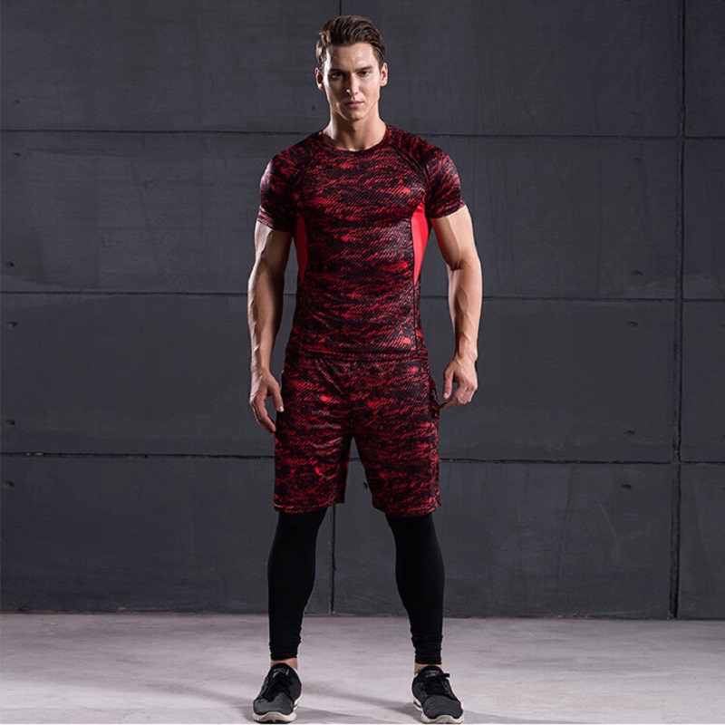 41782344df2b1 ... Sports Suits Men's Gym Clothes Running Compression Tights Set Fitness  Workout Jogging Suits Quick Dry Tracksuits. -4%. Click to enlarge