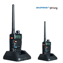 Baofeng / Pofung UV-5R 2PCS Dual Band Two Way CB Radio Walkie Talkie 5W 128CH UHF VHF FM VOX UV5R ham radio Dual Display