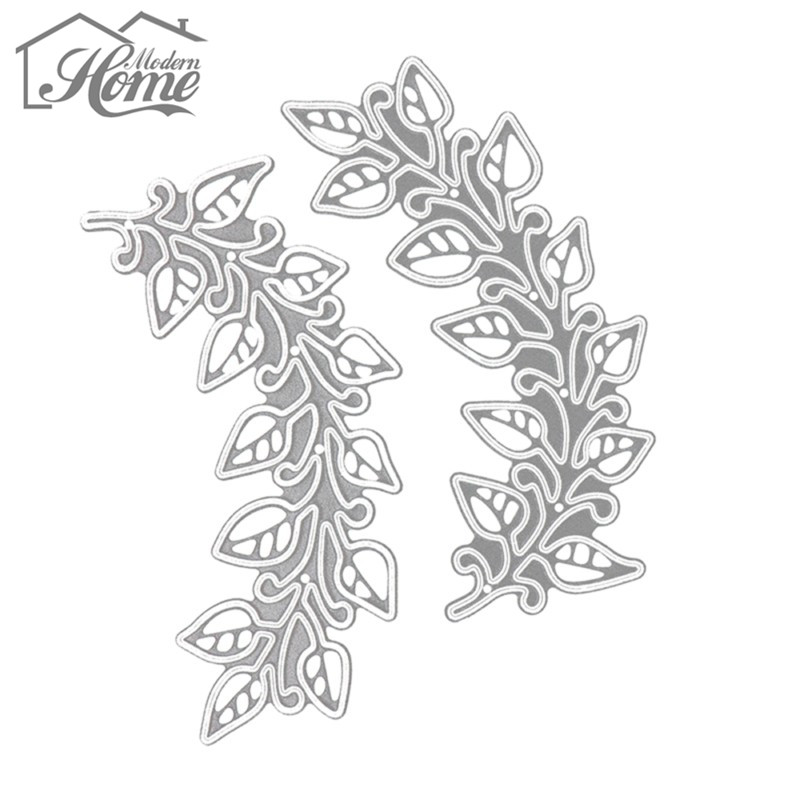 Image 5 - 3pcs Leaves Metal Cutting Dies Stencils For DIY Scrapbooking Album Decorative Embossing Template Folder Wedding Decor Die Cuts-in Cutting Dies from Home & Garden