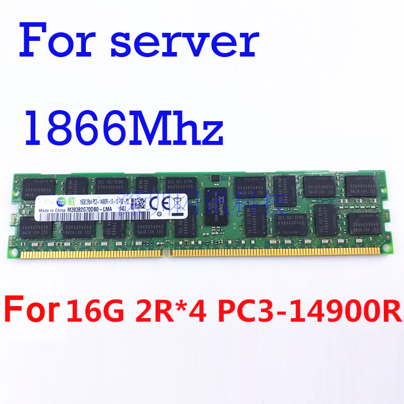 1866Mhz For Server Memory Only R-DIMM RAMs DDR3 4GB 8GB 16GB DDR3 PC3 14900 1Rx4 2Rx4 ECC REG RDIMM RAM PC3-14900R For X79 PC1866Mhz For Server Memory Only R-DIMM RAMs DDR3 4GB 8GB 16GB DDR3 PC3 14900 1Rx4 2Rx4 ECC REG RDIMM RAM PC3-14900R For X79 PC