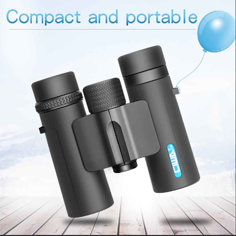 CIWA life waterproof Hunting binoculars High Quality Vision king Exit pupil diameter binoculars 10X26 outdoor eyepiece