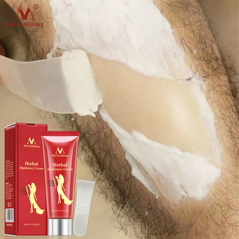 MeiYanQiong Hotest Herbal Depilatory Cream Hair Removal Painless Cream Removal Armpit Legs Hair Body Care Shaving Hair Removal