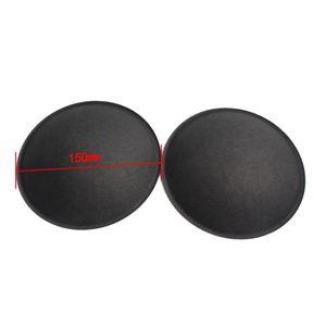 Image 4 - 2PCS 130มม./150มม.สีเทาสีดำลำโพงเสียงฝุ่นหมวกHardกระดาษฝุ่นสำหรับซับวูฟเฟอร์วูฟเฟอร์อุปกรณ์ซ่อมอะไหล่