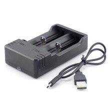 DC 5 в 3,5 мм 1 Порт двойной Mirco USB зарядный порт кабель с 18650 зарядным устройством Кабель-адаптер для фонарика
