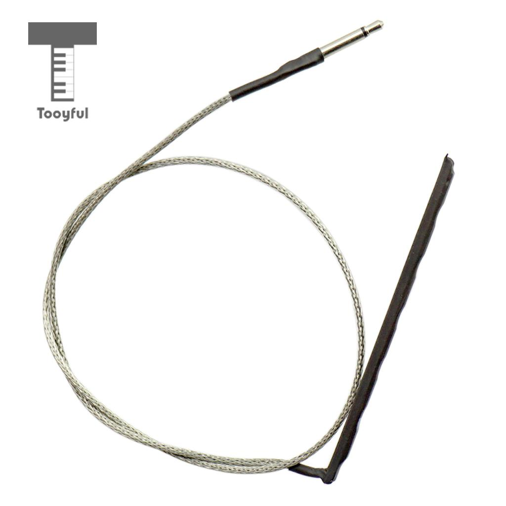 Tooyful Classical Guitar Cable Piezo Pickup Transducer