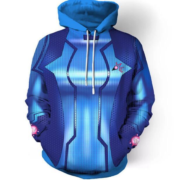 2018 Autumn Winter Fashion Men/Women Galactic warriors 3d Sweatshirts Print Hooded Hoodies Thin Unisex Pullovers Tops