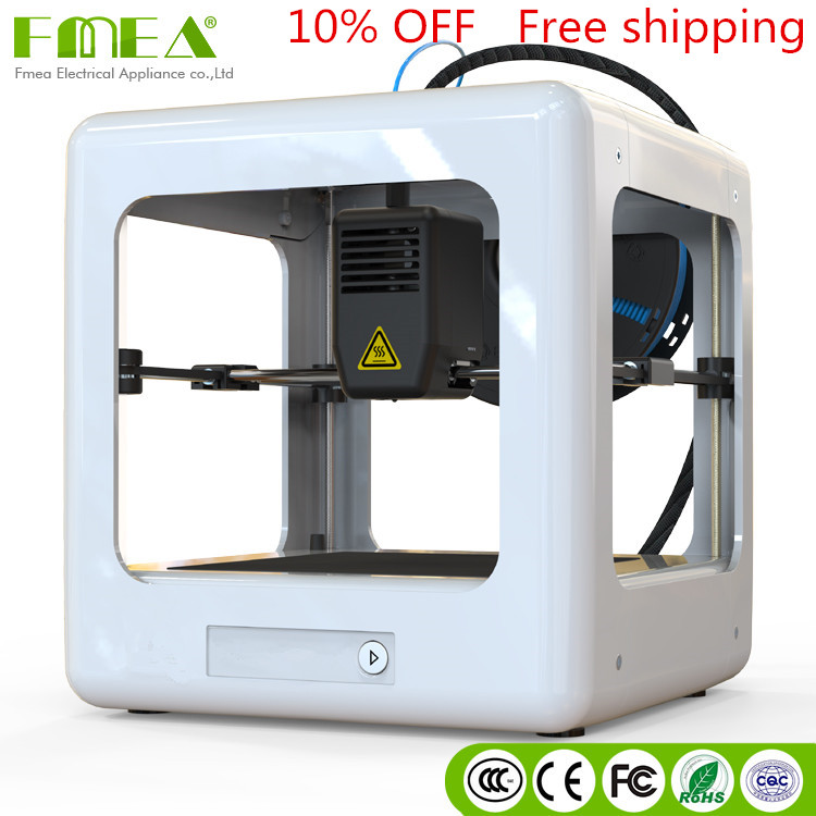 FMEA nouvelle arrivée Bas prix mini 1 pc 3d imprimante avec 1 rouleau filament